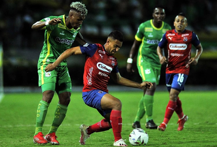 Deportivo Independiente Medellín, DIM, DaleRojo, Liga BetPlay 2021-II, Deportes Quindío, tabla de posiciones