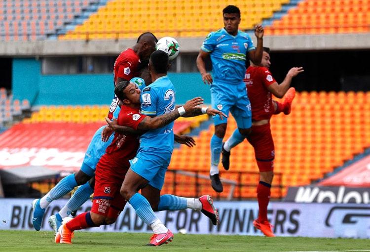Deportivo Independiente Medellín, DIM, DaleRojo, Liga BetPlay 2021-II, Jaguares de Córdoba, historial