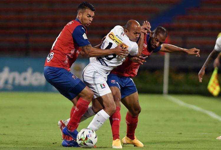 Deportivo Independiente Medellín, DIM, DaleRojo, Liga BetPlay 2021-II, Once Caldas, ficha técnica
