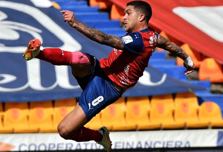 Deportivo Independiente Medellín, DIM, DaleRojo, Liga BetPlay 2021-II, Once Caldas, titular