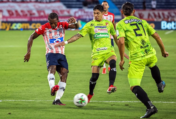 Deportivo Pereira, Junior FC, Copa Colombia 2021, ficha técnica