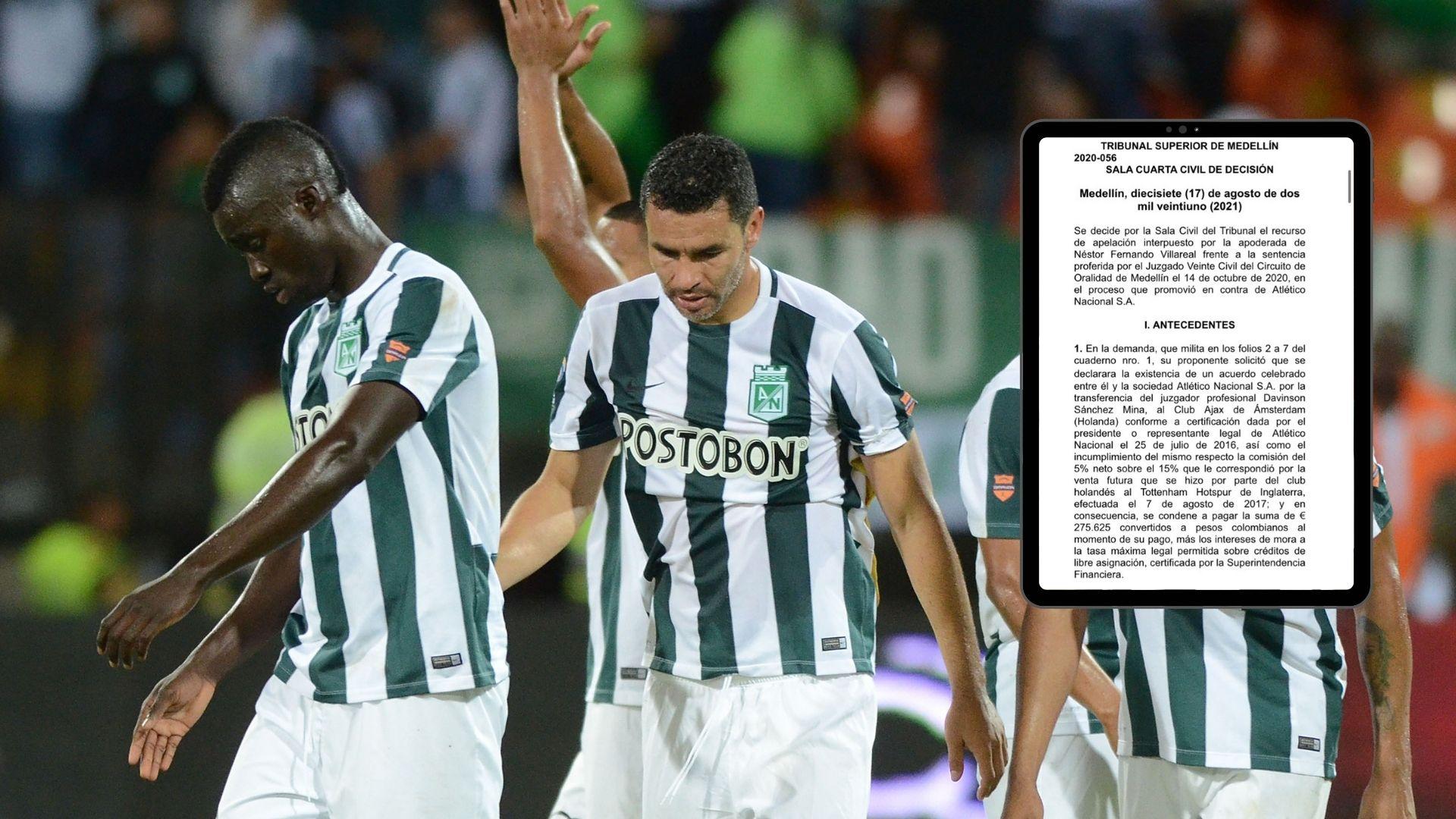 Nueva demanda a Atlético Nacional, ¿de qué se trata?