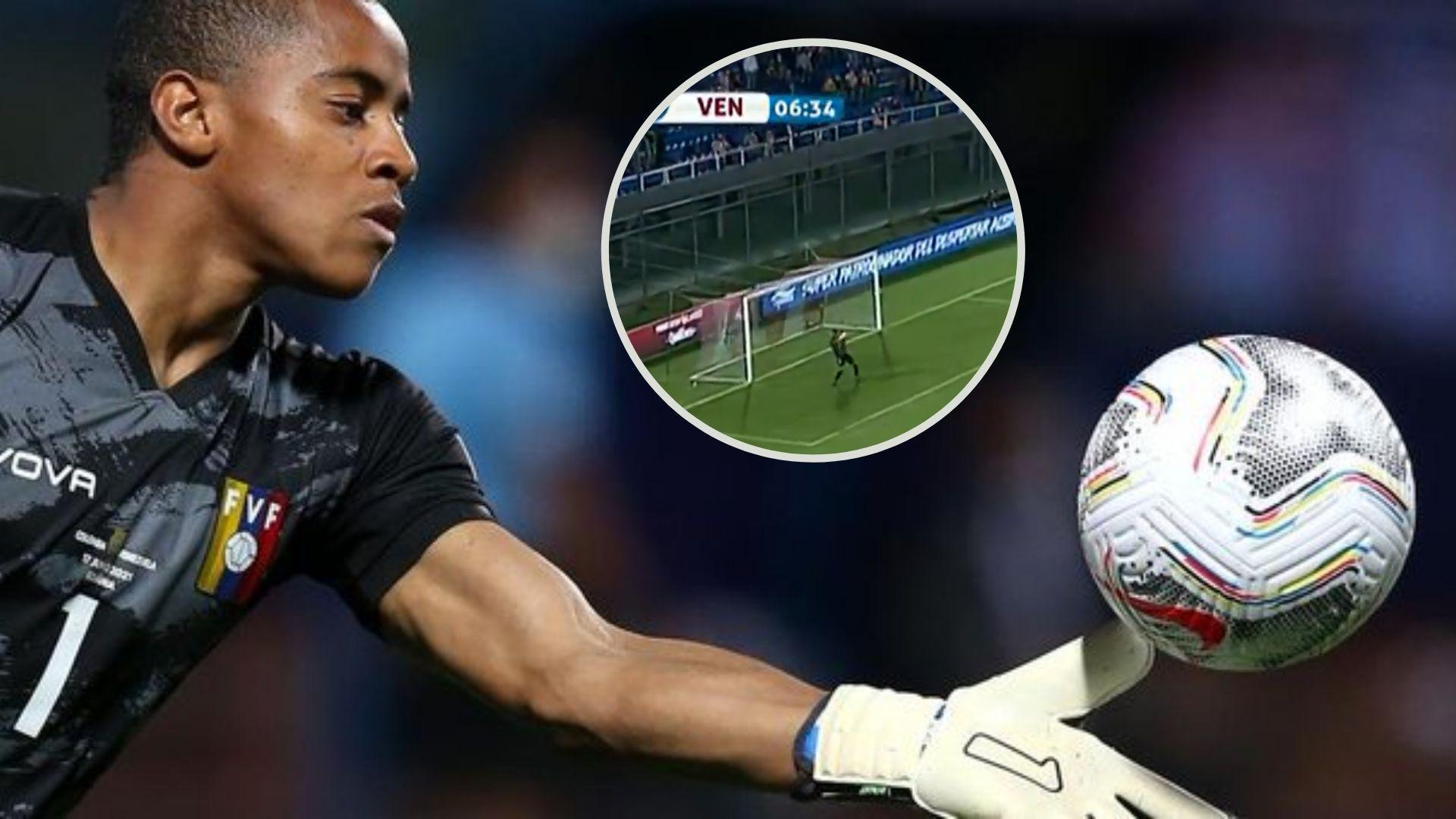 ¿Qué le pasó a Wuilker Faríñez? El gol de Paraguay por el que es criticado el arquero