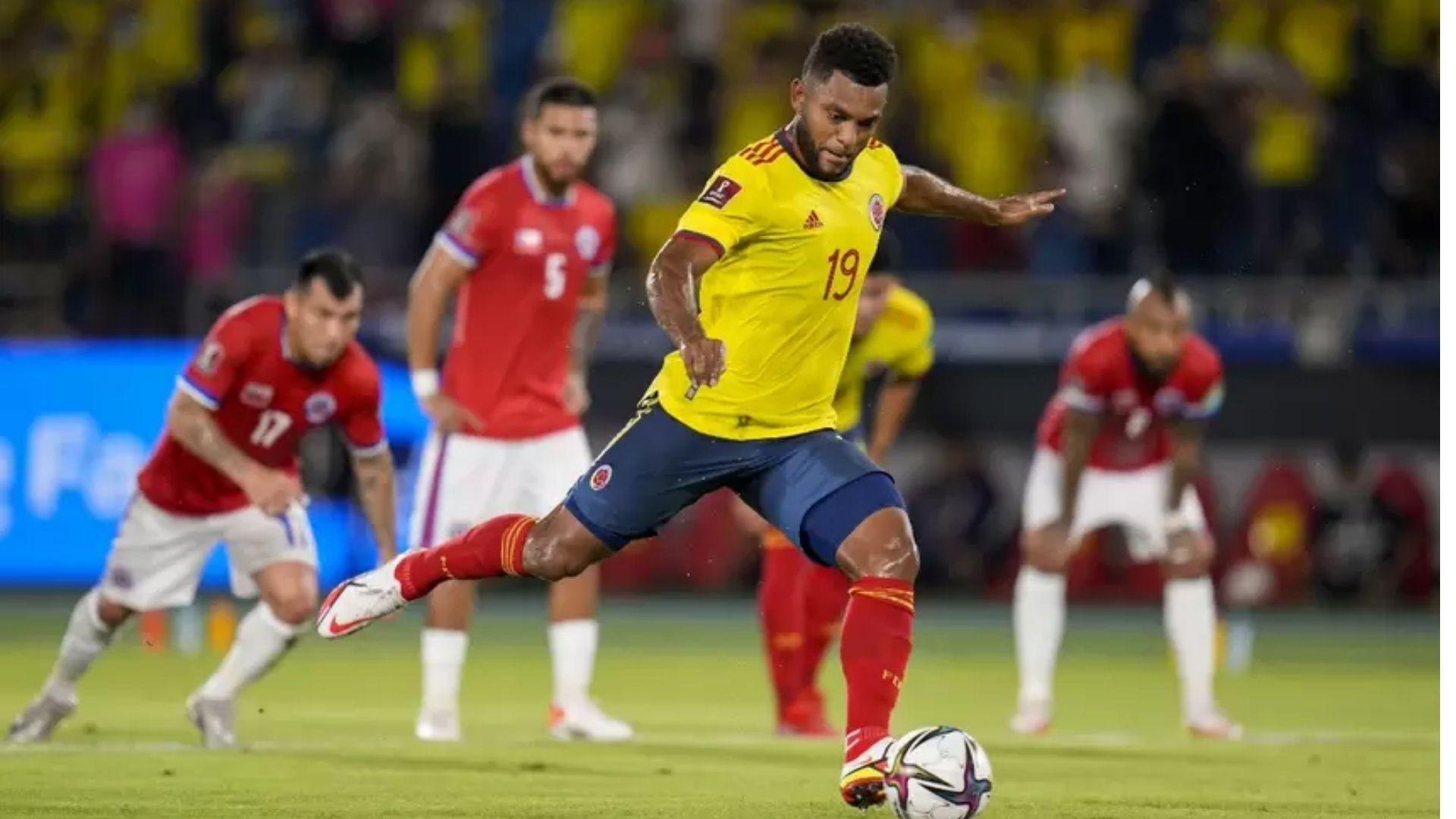 La Selección Colombia derrotó 2-1 a Chile