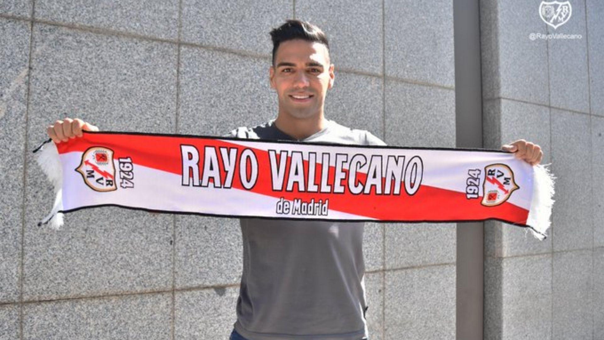 Falcao García será presentado por lo alto en el estadio del Rayo Vallecano