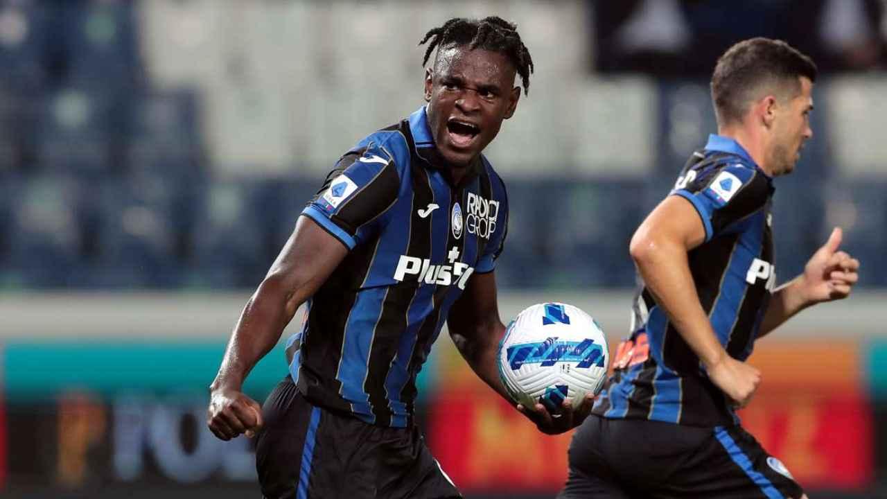 Duván Zapata, gol y derrota en su regreso con Atalanta