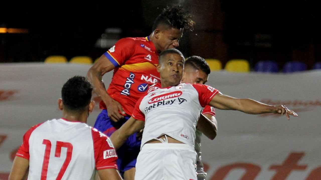 Fainer Torijano le da una agónica victoria a Santa Fe ante Deportivo Pasto
