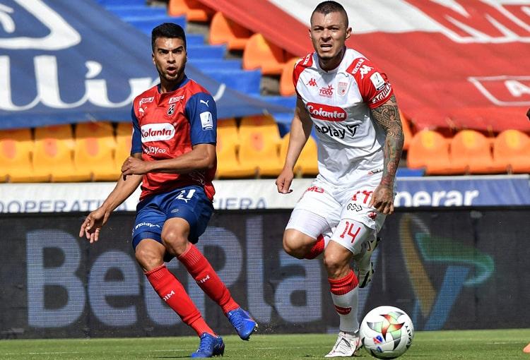 Independiente Santa Fe, Deportivo Independiente Medellín, DIM, DaleRojo, Liga BetPlay 2021-II, ficha técnica