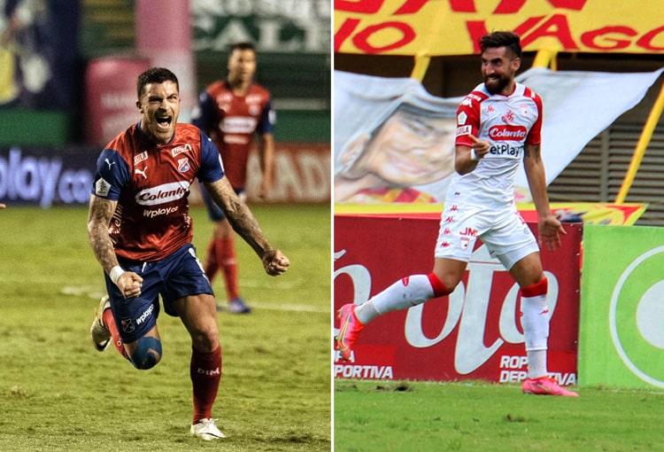 Independiente Santa Fe, Deportivo Independiente Medellín, DIM, DaleRojo, Liga BetPlay 2021-II