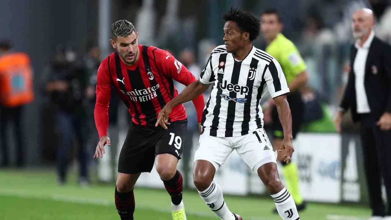Juan Guillermo Cuadrado y 72 minutos en el empate ante AC Milán
