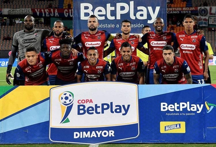 Julio Comesaña, David Montoya, Deportivo Independiente Medellín, DIM, DaleRojo, Liga BetPlay 2021-II, Jaguares de Córdoba