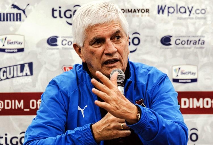 Julio Comesaña, David Montoya, Deportivo Independiente Medellín, DIM, DaleRojo, Liga BetPlay 2021-II