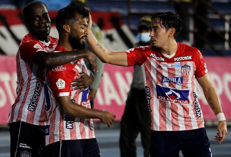 Junior FC, Atlético Huila, Liga BetPlay 2021-II, tabla de posiciones