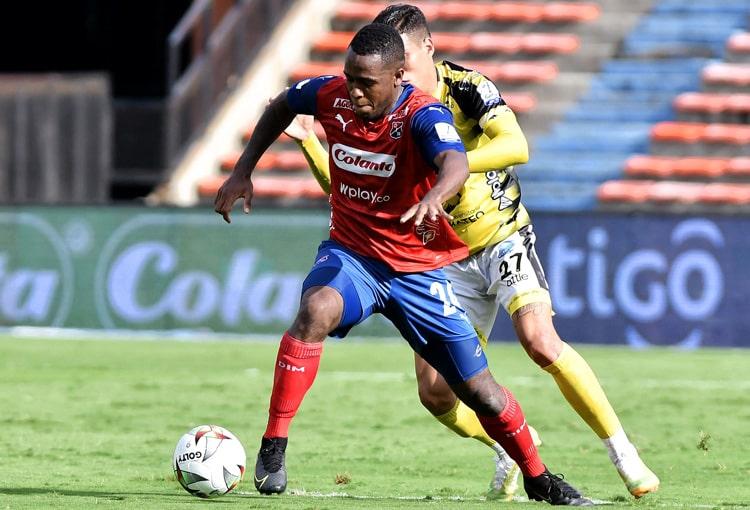 Kevin Londoño, Deportivo Independiente Medellín, DIM, DaleRojo, Liga BetPlay 2021-II, Deportes Quindío