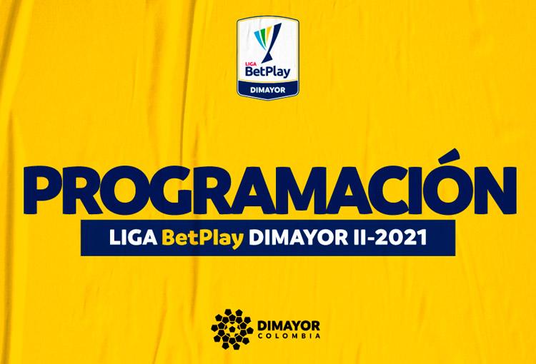 Liga BetPlay 2021-II, programación, fecha 11