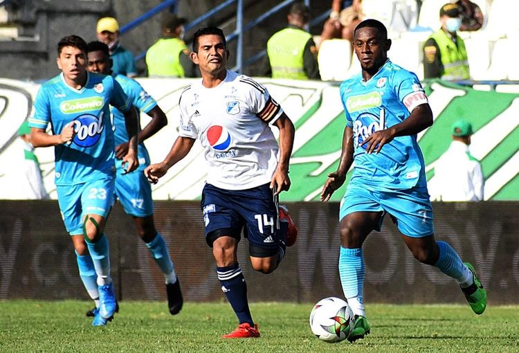 Liga BetPlay 2021-II, tabla de reclasificación 2021, Atlético Nacional, Millonarios FC