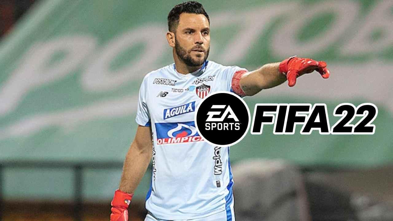 Los mejores jugadores del fútbol colombiano en FIFA 22