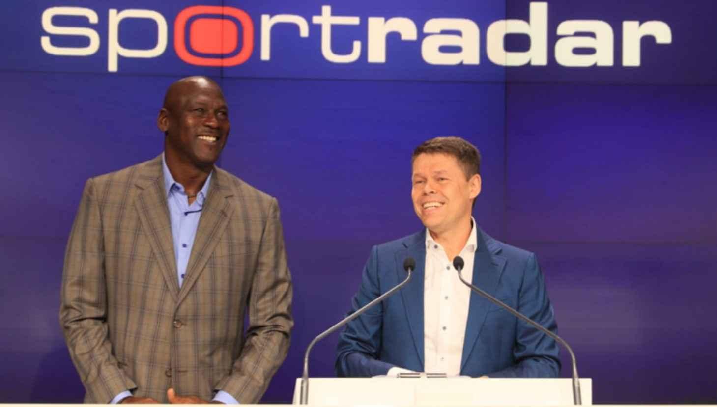 Michael Jordan aumenta participación en Sportradar