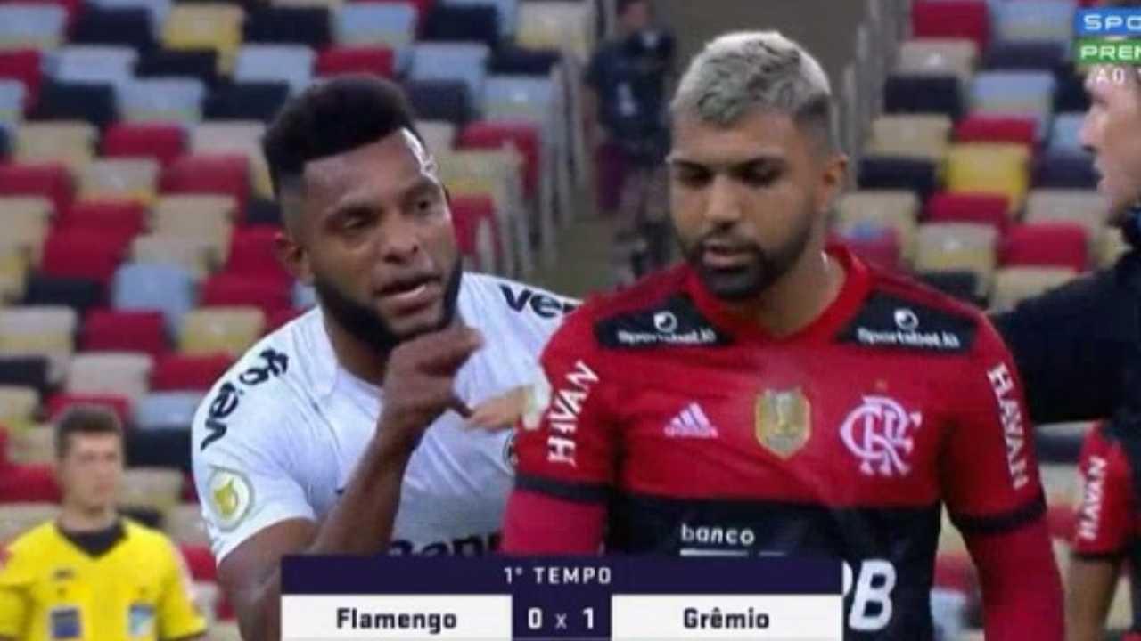 Miguel Borja gol, penal errado, victoria ante Flamengo y bronca con Gabigol