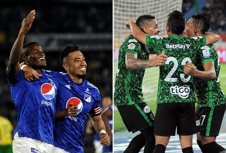 Millonarios FC, América de Cali, Atlético Nacional, Deportivo Independiente Medellín, DIM, Liga BetPlay 2021-II, tabla de posiciones
