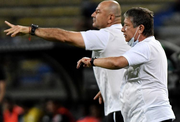 Raúl Giraldo, Hernán Darío Gómez, Bolillo Gómez, Deportivo Independiente Medellín, DIM, DaleRojo, Liga BetPlay 2021-II