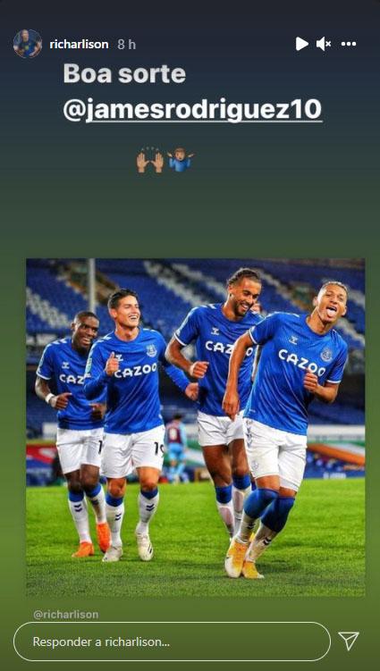 Richarlison, James Rodríguez, Everton FC, Al Rayyan SC