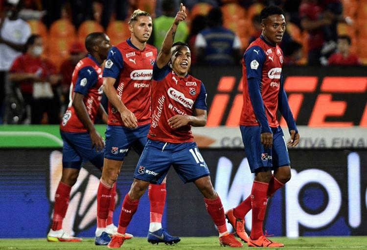 Vladimir Hernández, Deportivo Independiente Medellín, DIM, DaleRojo, Liga BetPlay 2021-II, Once Caldas