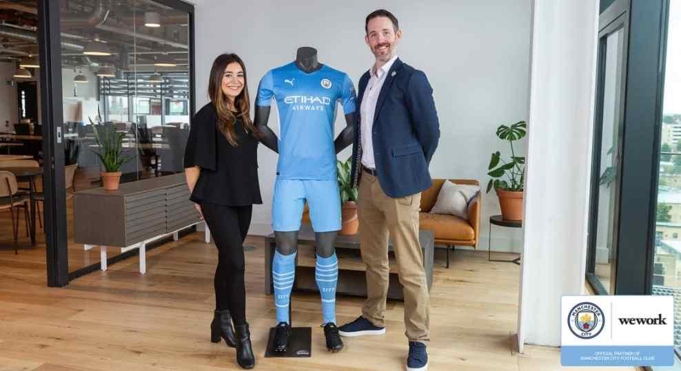 WeWork es el nuevo socio del Manchester City y el New York City FC
