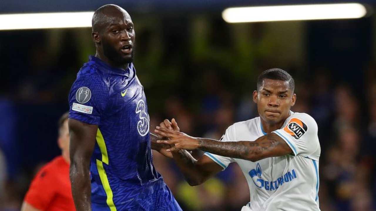 Wilmar Barrios y un correcto partido como central en la derrota ante Chelsea
