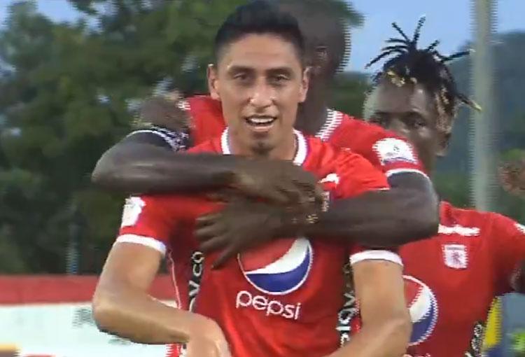 Mauricio Gómez en América de Cali: primer gol y desahogo