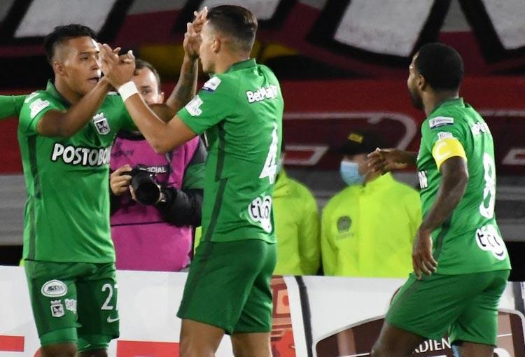 Los datos que dejó el Santa Fe 2-1 Atlético Nacional por Copa BetPlay 2021