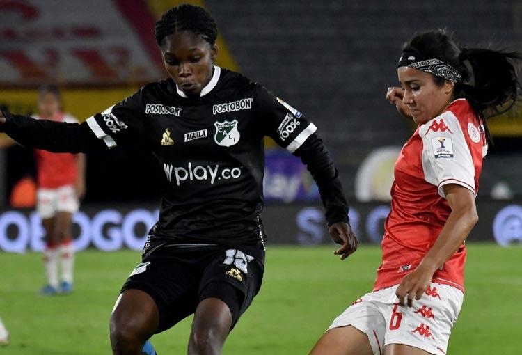 Liga BetPlay Femenina: ¡Sorpresa y goleada en la primera final entre Santa Fe y Deportivo Cali!
