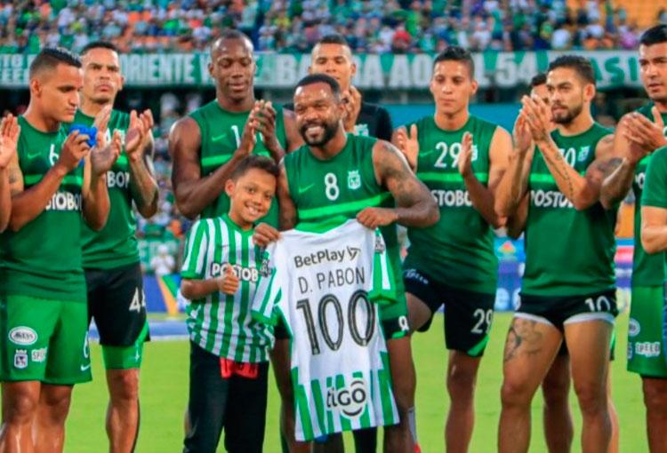 Dorlan Pabón: 100 partidos en Atlético Nacional y números destacados
