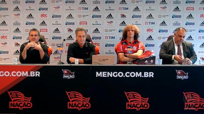 Flamengo activa Mercado Libre en presentación de David Luiz