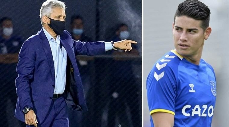 """Reinaldo Rueda y un nuevo mensaje a James Rodríguez: """"Ojalá juegue en una liga competitiva"""""""