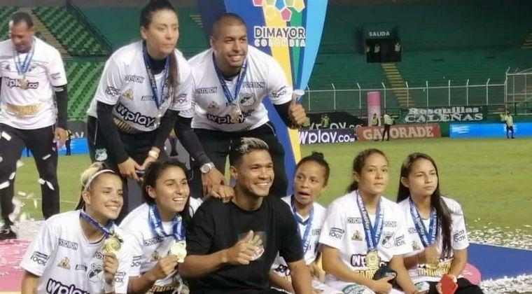 deportivo cali femenino - teofilo gutierrez