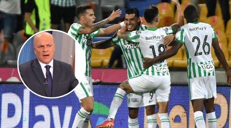 Carlos Antonio Vélez y su dura crítica a Atlético Nacional a pesar de sus formidables números