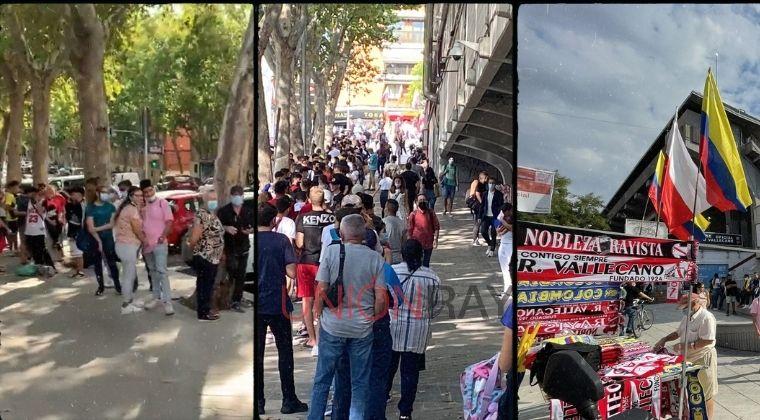 Efecto Falcao Garcia: ¡Miles de personas aguardan por la presentación del Tigre!