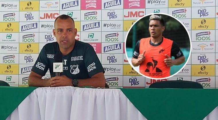 """Rafael Dudamel: """"Teófilo Gutiérrez está avergonzado con el equipo"""""""