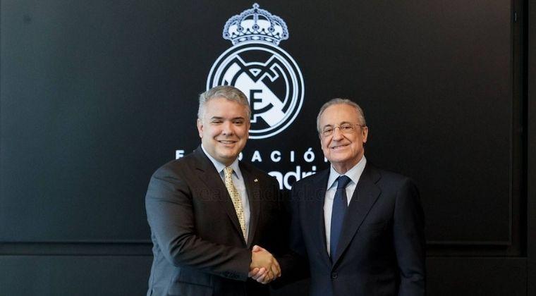 Nuevo encuentro entre el presidente Iván Duque y Florentino Pérez, ¿Qué acuerdo se firmó?