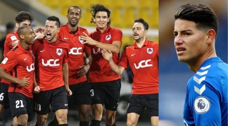 Con esto se encontraría James Rodríguez: nómina, DT y estadio del Al Rayyan SC