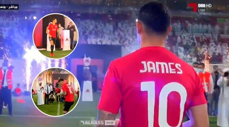 Los lujos de James Rodríguez ante