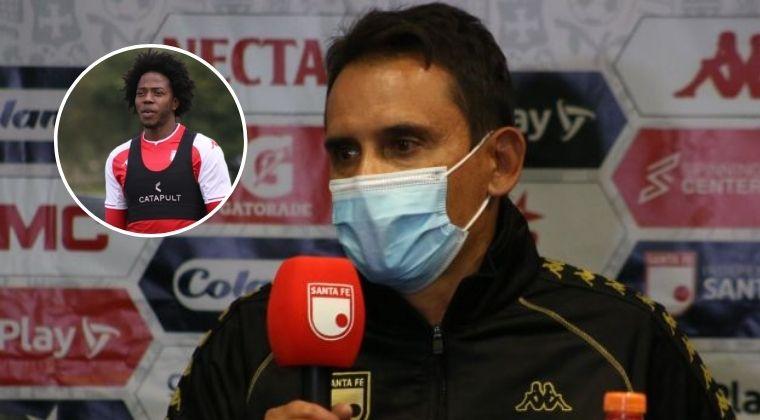 ¿Ante Envigado será el debut de Carlos Sánchez?, el DT Santa Fe respondió