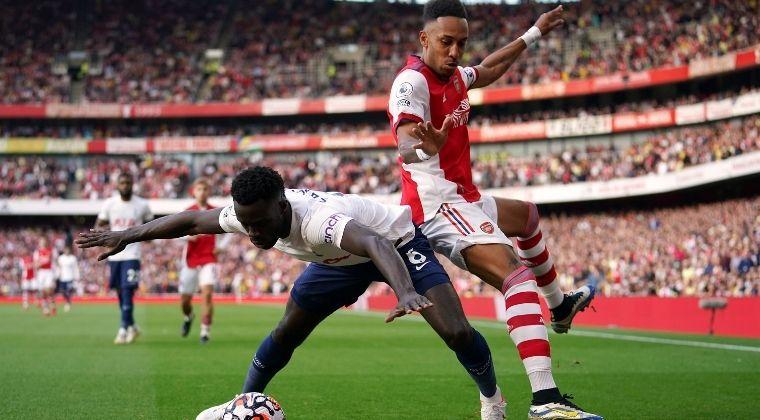 Dávinson Sánchez presente en la goleada del Arsenal sobre Tottenham