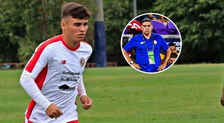 Jugador de Costa Rica renunció a la selección por diferencias con Luis Fernando Suárez