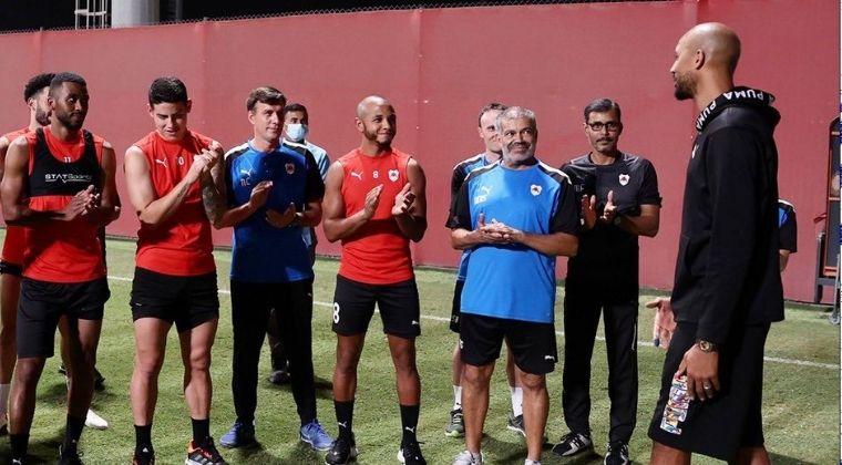 """""""Es interesante jugar con James Rodríguez"""": Nzonzi, nuevo fichaje de Al-Rayyan"""