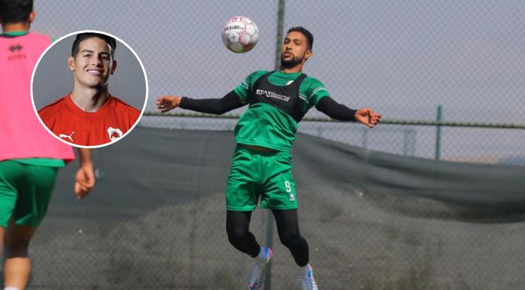Jeison Medina, jugador colombiano que milita en el Al Shamal,se refirió públicamente a la Liga de Catar.