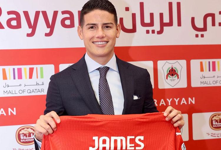 James, Al Rayyan y la posibilidad de volver a un club en Champions League