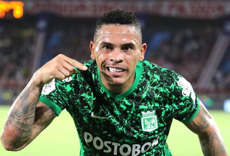Jonatan Álvez se montó a la cima de goleadores de la Copa BetPlay 2021