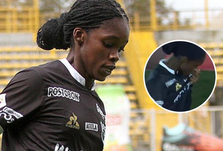 Linda Caicedo, gol en la final y beso al escudo de Deportivo Cali